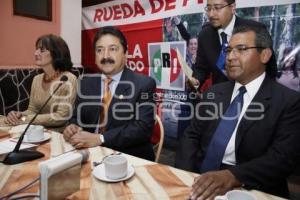 RUEDA DE PRENSA DIPUTADOS FEDERALES PRI