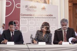 CONVENIO IEE MUNICIPIO DE PUEBLA
