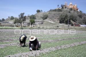 ASPECTOS DE SAN ANDRES CHOLULA