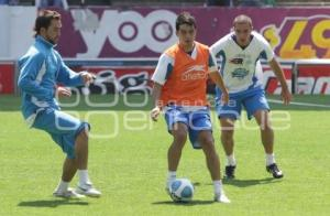 FUTBOL . PUEBLA FC . ENTRENAMIENTO