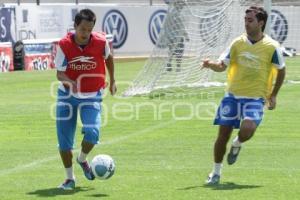 FÚTBOL . PUEBLA FC . ENTRENAMIENTO