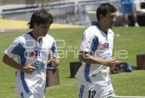 FUTBOL . ENTRENAMIENTO PUEBLA FC