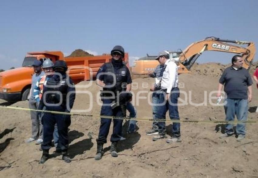 Utilizaron la Fuerza Pública para inhibir a los campesinos de paras las obras de construcción