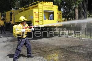 COMBATE INCENDIOS FORESTALES