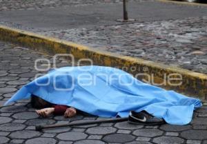 ATROPELLADO . BARRIO DE ANALCO