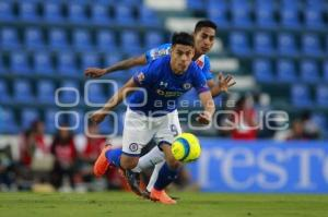 FÚTBOL . CRUZ AZUL VS CLUB PUEBLA