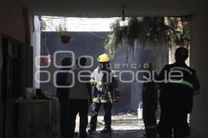 INCENDIO COLONIA VICENTE GUERRERO