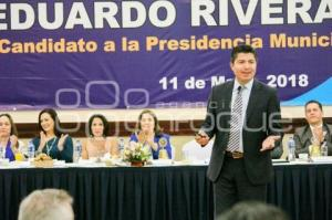 EDUARDO RIVERA . CLUB ROTARIO