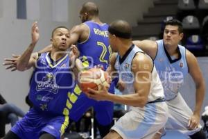 BASQUETBOL . ANGELES VS CAPITANES