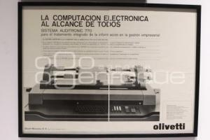 EXPOSICIÓN . OLIVETTI MAKES