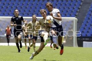 FUTBOL FEMENIL . CLUB PUEBLA VS PUMAS