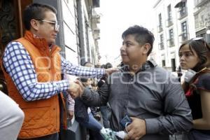PROTESTA PRO CUIDADO DEL AMBIENTE