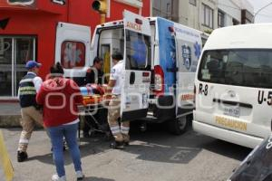 ACCIDENTE . TRANSPORTE PÚBLICO