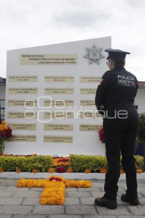OFRENDA . SECRETARÍA SEGURIDAD CIUDADANA