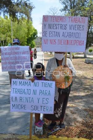 TEHUACÁN . SOLICITAN DESPENSAS