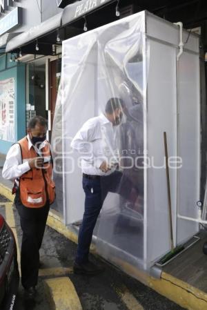 BARBER SHOP . MEDIDAS DE SANIDAD