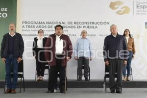 PROGRAMA NACIONAL DE RECONSTRUCCIÓN