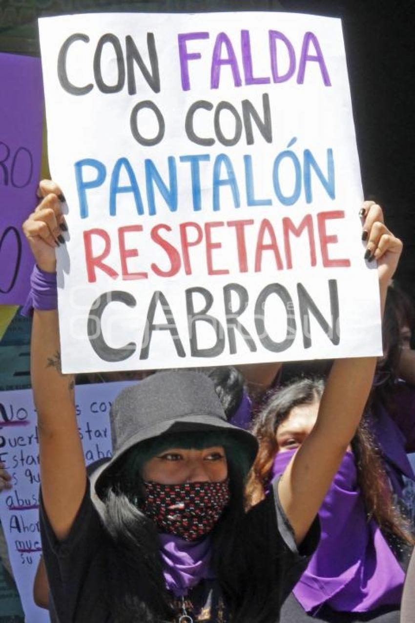 Agencia Enfoque - TEXMELUCAN . MANIFESTACIÓN FEMINISTAS
