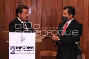 INFORME LUIS ALBERTO ARRIAGA