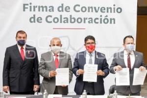 SECRETARÍA DE CULTURA . FIRMA DE CONVENIO