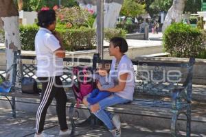 TEHUACÁN . RELAJAMIENTO SOCIAL