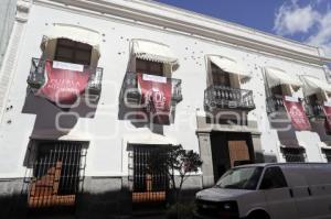 MUSEO REVOLUCIÓN MEXICANA . PENDONES