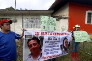 MANIFESTACIÓN CASO MARÍA ELIZABETH OREA