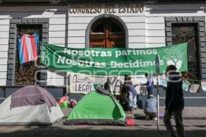 ABORTO LEGAL . TOMA DE CONGRESO