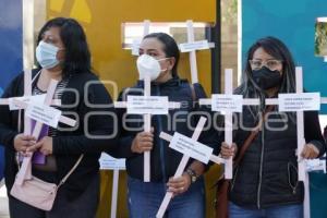 PROTESTA . MUJERES DESAPARECIDAS