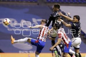 FÚTBOL . CLUB PUEBLA VS CHIVAS