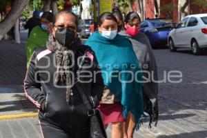 TEHUACÁN . CUBREBOCA OBLIGATORIO