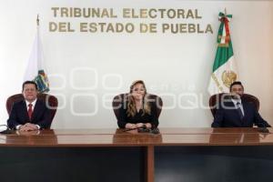 TEEP. TOMA DE PROTESTA
