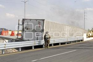SEGURIDAD . INCENDIO POR CHOQUE