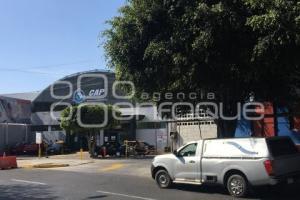 CENTRAL DE AUTOBUSES . DECESO