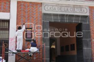 CASA DE CULTURA . LIMPIEZA