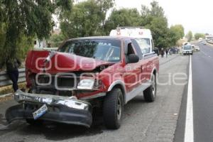 ACCIDENTE AUTOPISTA