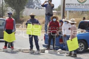 EL VERDE . PROTESTA INSEGURIDAD