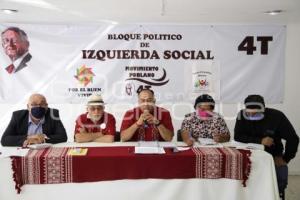BLOQUE POLÍTICO DE IZQUIERDA