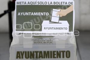 INE . ELECCIONES . MEDIDAS SANITARIAS