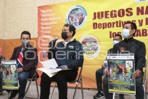 JUEGOS NACIONALES TRABAJADORES