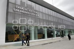 SAN ANDRÉS CHOLULA . CASA DE JUSTICIA