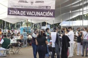 HUEJOTZINGO . VACUNA COVID-19