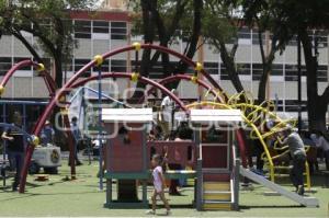 SAN PEDRO CHOLULA . JUEGOS INFANTILES