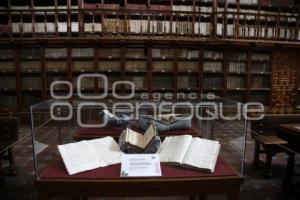 BIBLIOTECA PALAFOXIANA . ANIVERSARIO