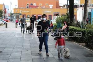 CHOLULA . RELAJAMIENTO SOCIAL