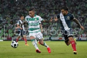 FÚTBOL . SANTOS VS CLUB PUEBLA