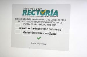 BUAP . ELECCIONES RECTOR