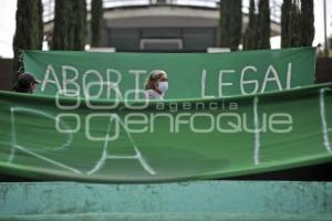 TLAXCALA . PROTESTA ABORTO