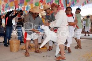 TEHUACÁN . RITUAL MATANZA