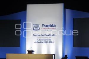 TOMA DE PROTESTA . PREVIO